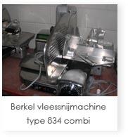 Berkel vleessnijmachine type 834 combi