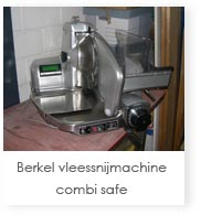 Berkel vleessnijmachine combi safe